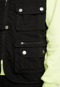 Urban Classics - WORKER  - Waistcoat - black - 5