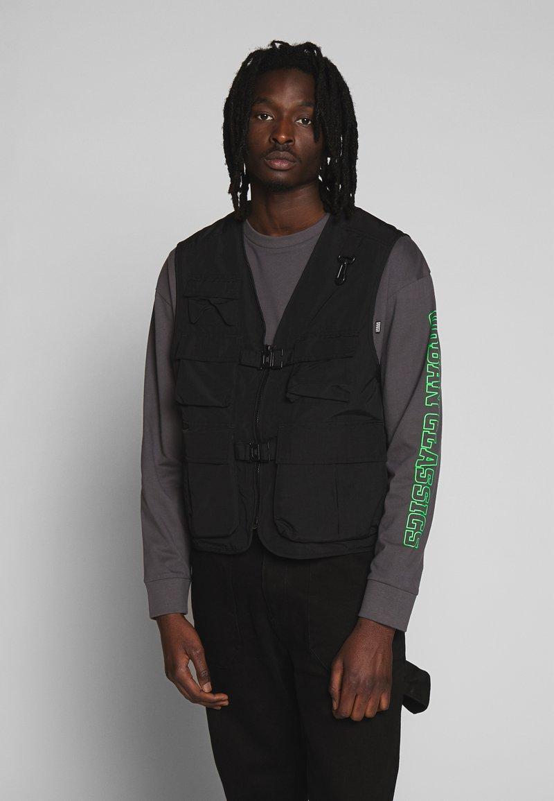 Urban Classics - TACTICAL VEST - Vest - black