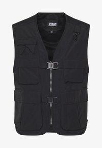 Urban Classics - TACTICAL VEST - Vest - black - 5