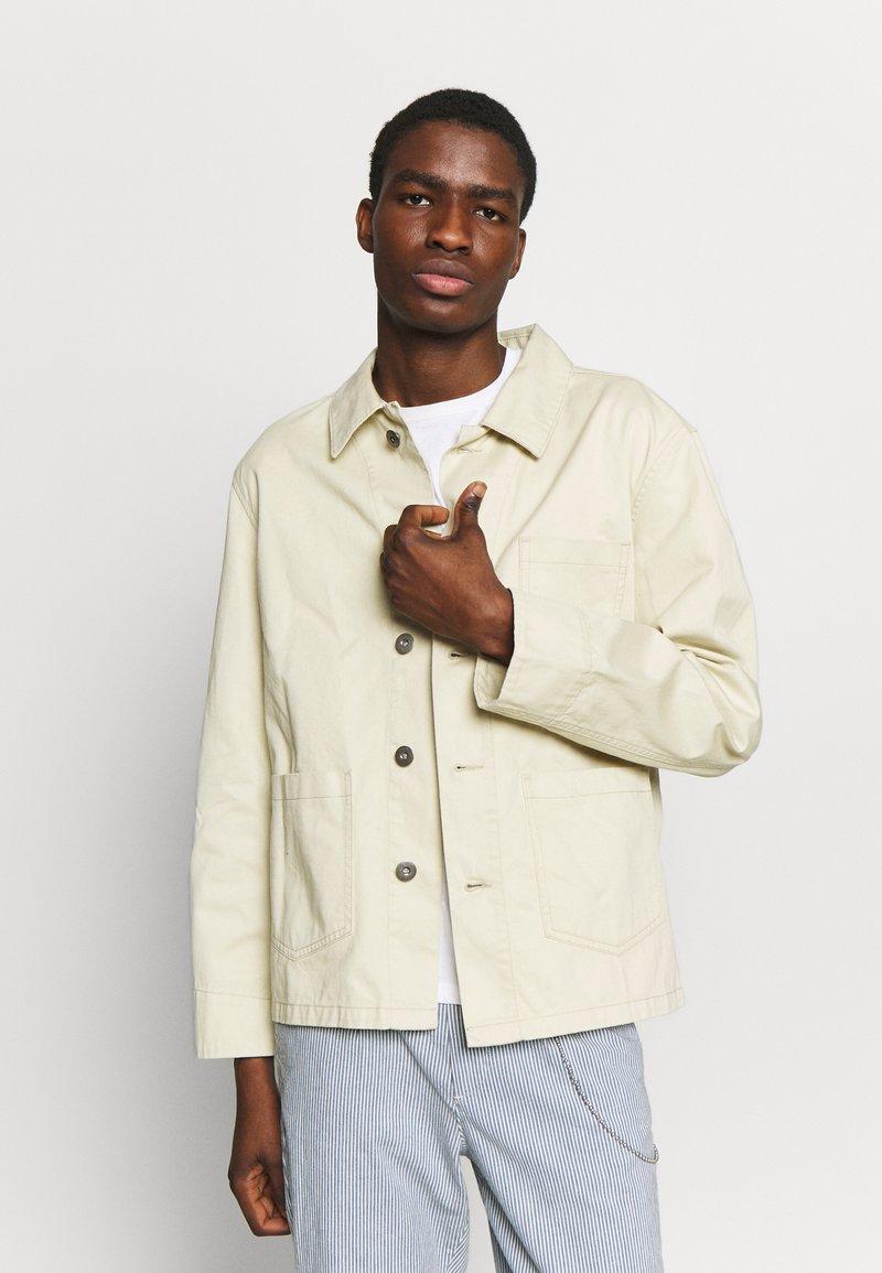 Urban Classics - WORKER JACKET - Summer jacket - concrete