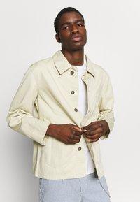 Urban Classics - WORKER JACKET - Summer jacket - concrete - 2