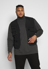 Urban Classics - TACTICAL VEST - Vesta - black - 0