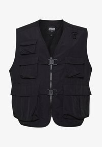Urban Classics - TACTICAL VEST - Vesta - black - 4
