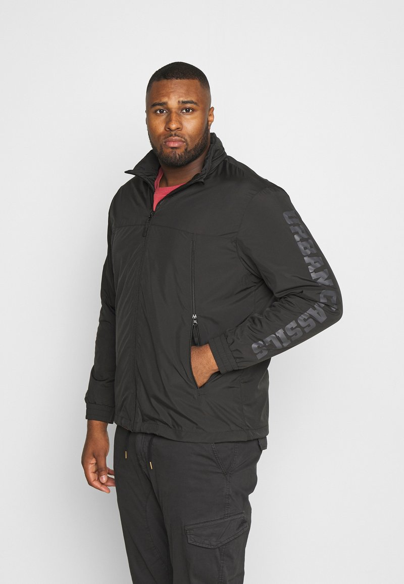 Urban Classics - TACTICAL LIGHT JACKET - Windbreaker - black