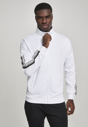 Training jacket - white/grey