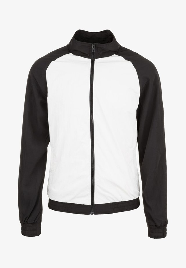 Laufjacke - white/black