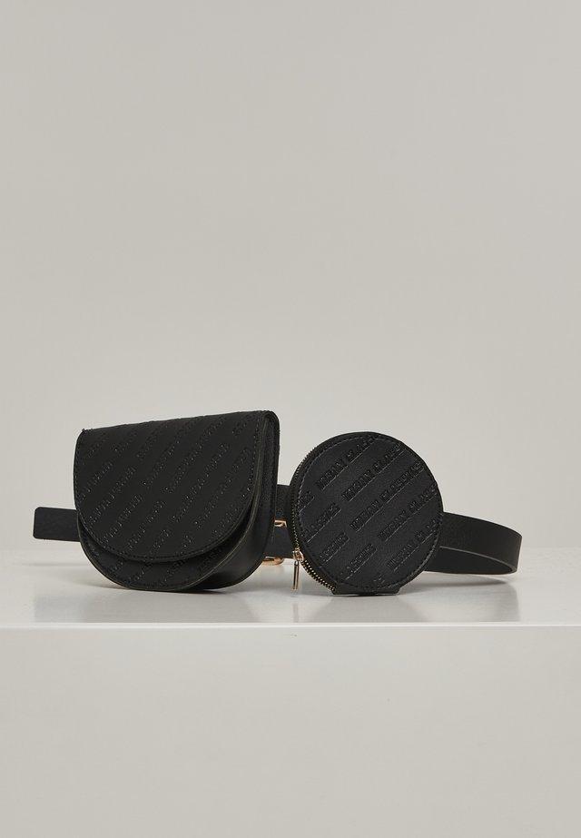 ACCESSOIRES BELTBAG DOUBLE - Bum bag - black