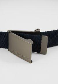 Urban Classics - BELTS - Belt - navy/silver-coloured - 4