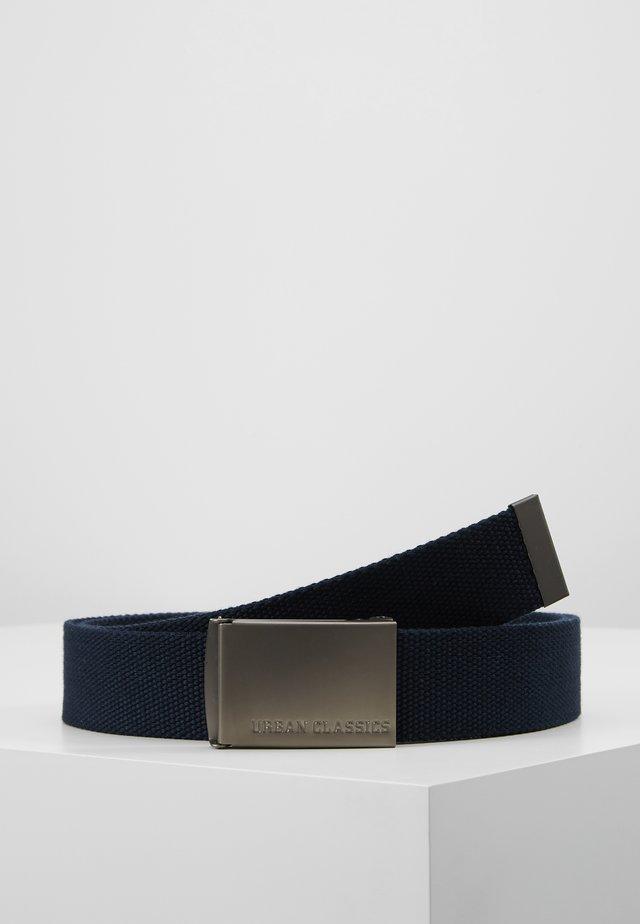 BELTS - Belte - navy/silver-coloured