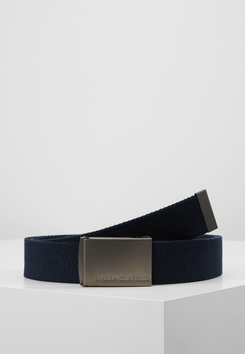 Urban Classics - BELTS - Belt - navy/silver-coloured