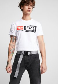 Urban Classics - WING BUCKLE BELT - Belt - grey - 1