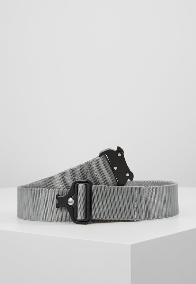 WING BUCKLE BELT - Pásek - grey