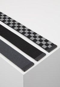 Urban Classics - BELTS TRIO 3 PACK - Belt - grey/black - 3