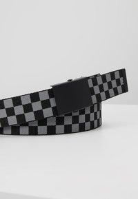 Urban Classics - BELTS TRIO 3 PACK - Belt - grey/black - 5
