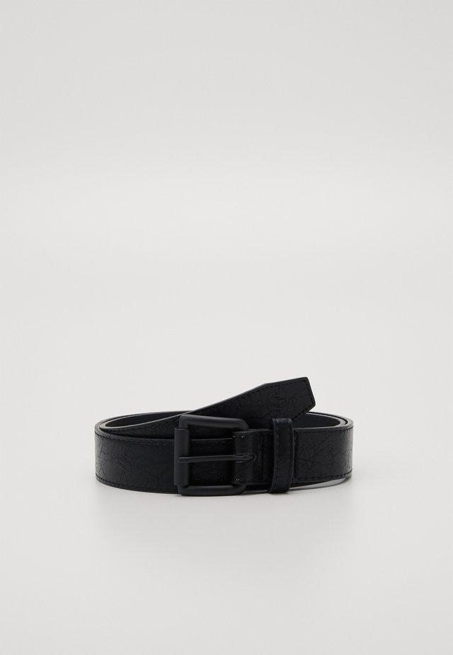 MARMORIZED BELT - Belt - black