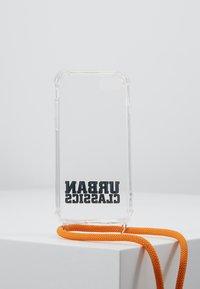 Urban Classics - PHONE NECKLACE WITH ADDITIONALS / I PHONE 6/7/8 - Obal na telefon - transparent/ orange - 3