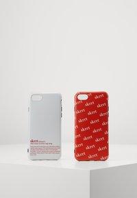 Urban Classics - PHONE CASE SET - Mobilveske - white/red - 0