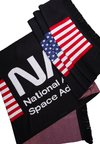 Urban Classics - NASA BIG SCARF - Schal - black