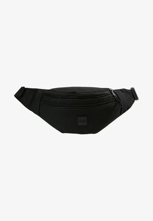 DOUBLE-ZIP SHOULDER BAG - Bum bag - black