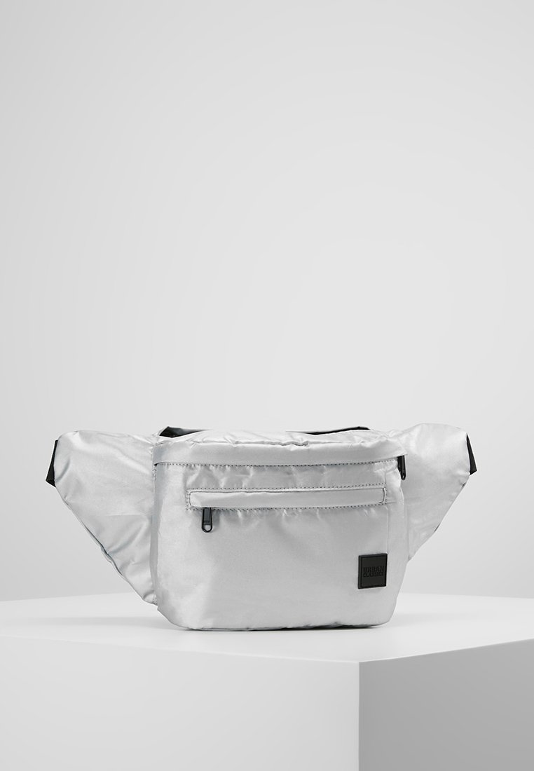 Urban Classics - OVERSIZE SHOULDERBAG - Gürteltasche - silver