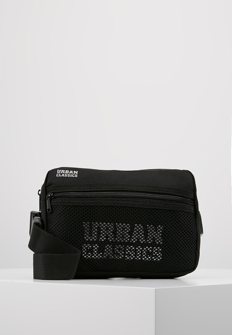 Urban Classics - CHEST BAG - Ledvinka - black