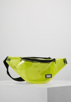 SHOULDER BAG - Rumpetaske - transparent yellow