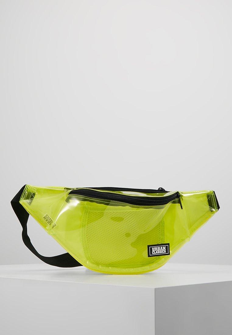 Urban Classics - SHOULDER BAG - Gürteltasche - transparent yellow
