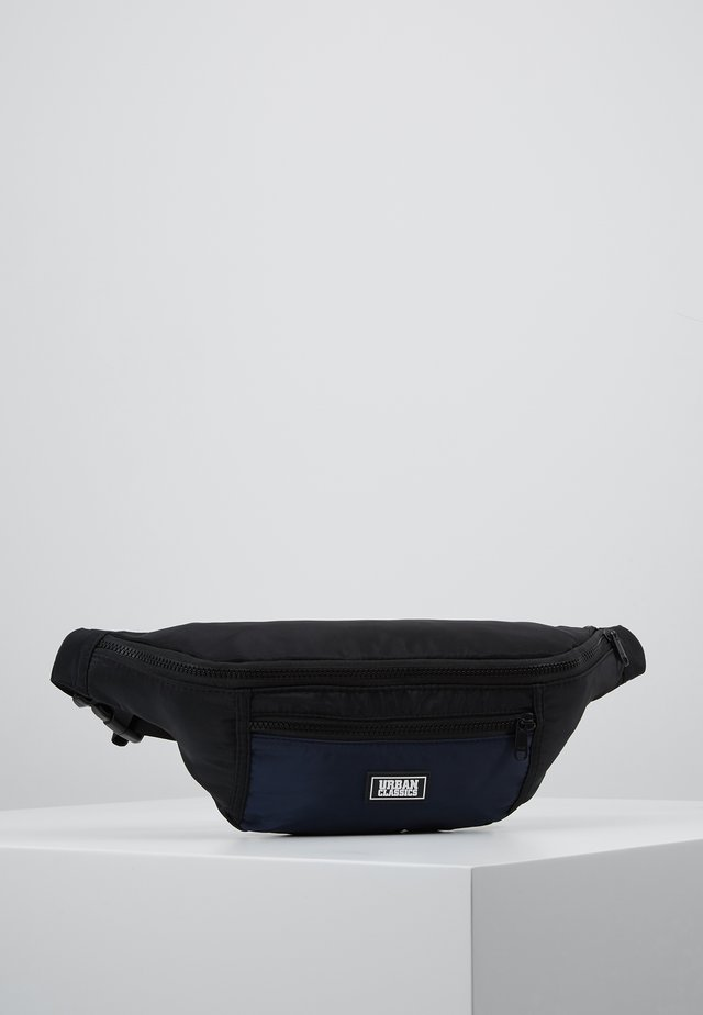 TONE SHOULDER BAG - Bum bag - black/blue