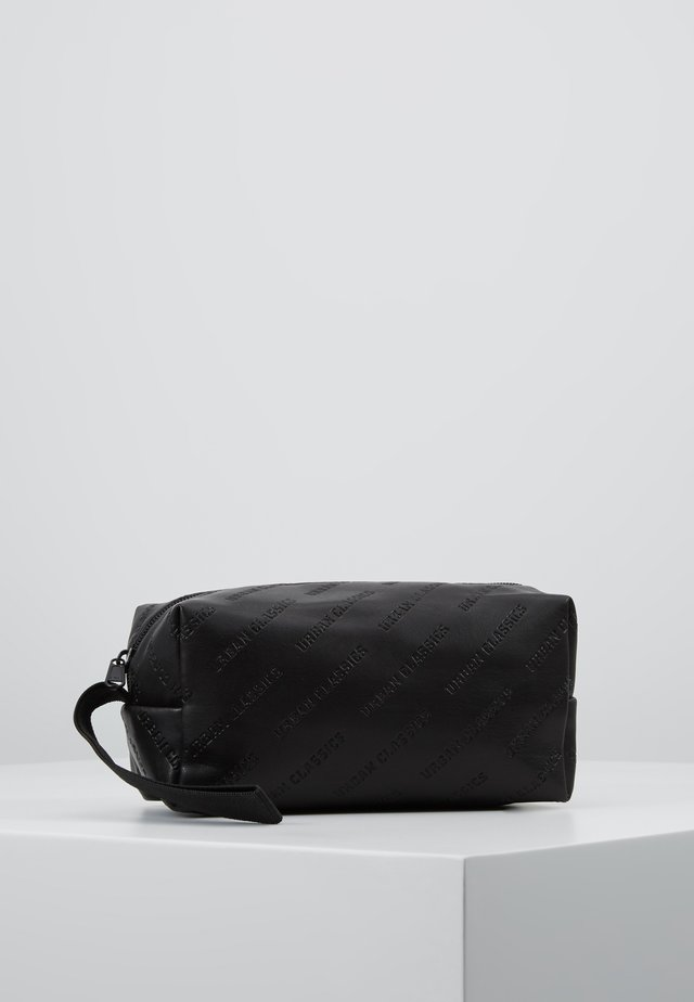 COSMETIC POUCH - Wash bag - black
