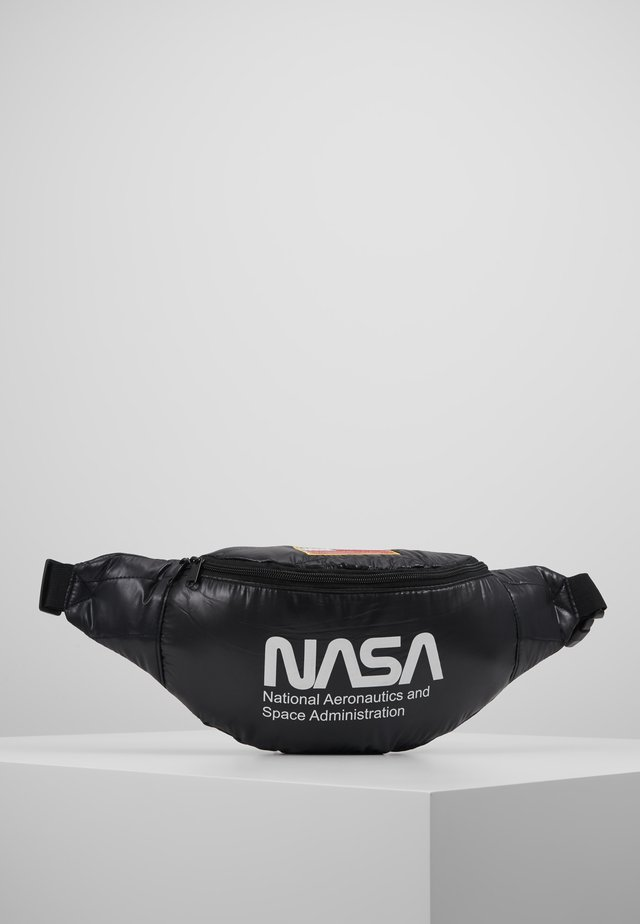 NASA SHOULDERBAG - Ledvinka - black