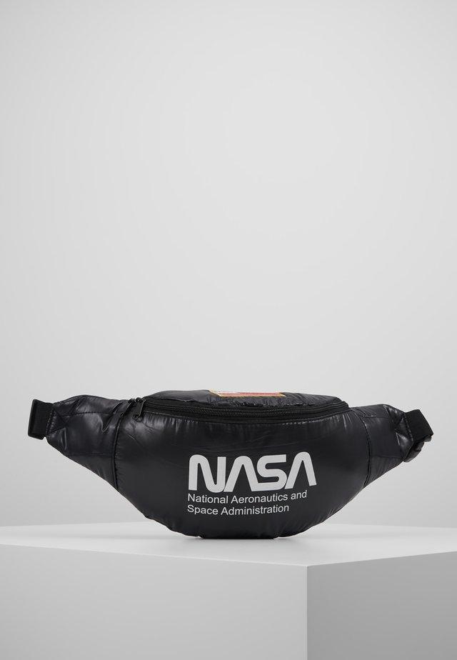 NASA SHOULDERBAG - Bum bag - black