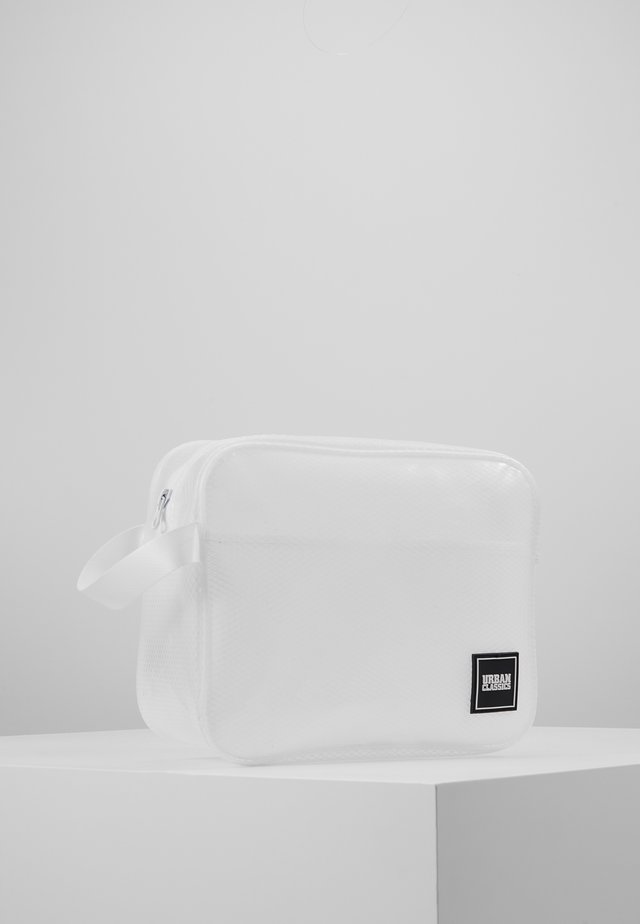 COSMETIC POUCH GUM SMALL - Wash bag - white