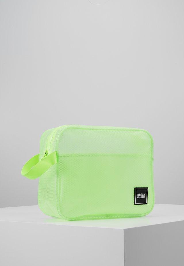 COSMETIC POUCH GUM SMALL - Wash bag - lemon