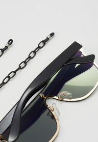 Urban Classics - SUNGLASSES - Sunglasses - gold mirror/black - 2