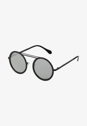 CHAIN SUNGLASSES - Sluneční brýle - silver mirror/black