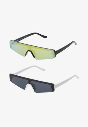 SUNGLASSES 2 PACK - Sunglasses - black/multicolour/white