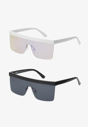 SUNGLASSES RHODOS 2 PACK - Zonnebril - black and white/multicoloured