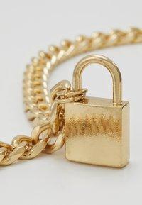 Urban Classics - PADLOCK NECKLACE - Necklace - gold-coloured - 4
