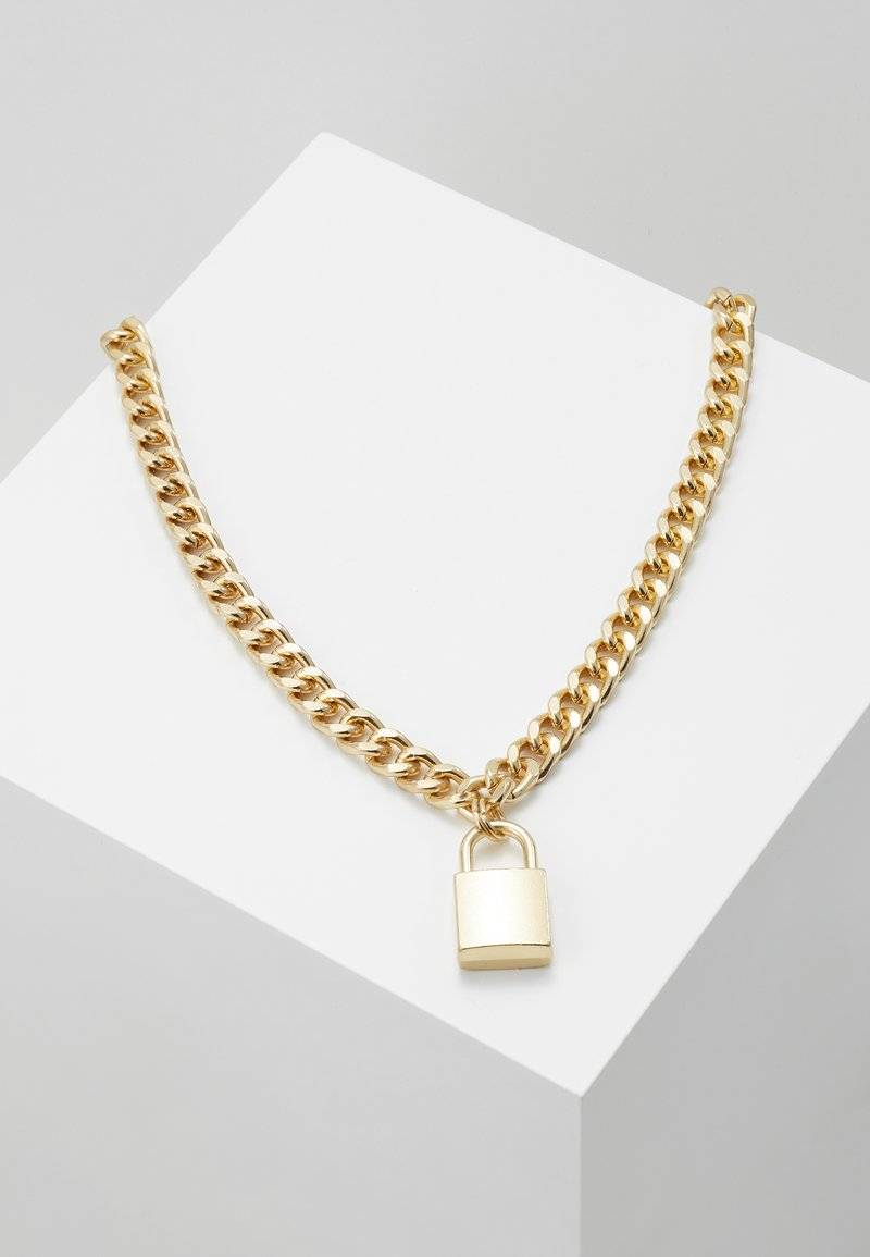 Urban Classics - PADLOCK NECKLACE - Necklace - gold-coloured