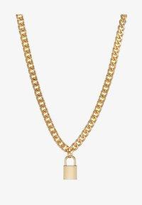Urban Classics - PADLOCK NECKLACE - Necklace - gold-coloured - 3