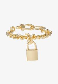 Urban Classics - PADLOCK BRACELET - Bracelet - gold-coloured - 3