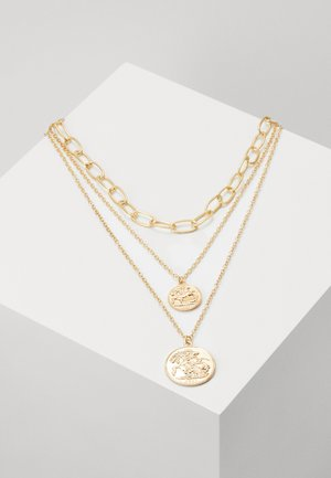 LAYERING NECKLACE PATRICIA - Halsband - gold-coloured