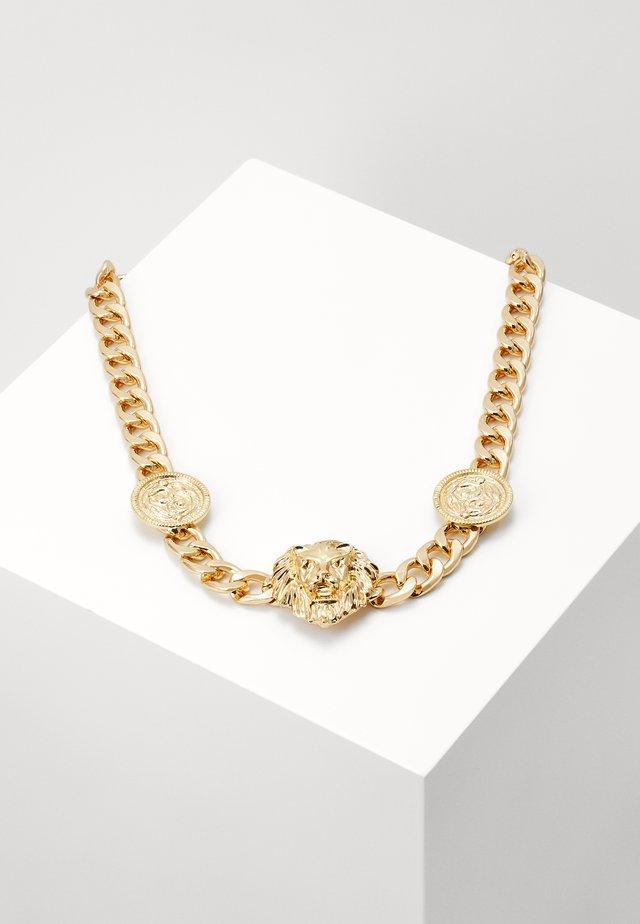 LION NECKLACE - Smykke - gold-coloured