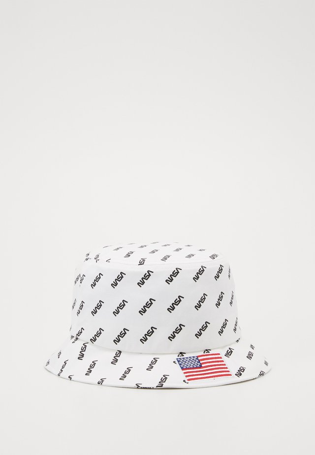NASA ALLOVER BUCKET HAT - Kapelusz - white