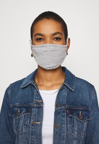 Urban Classics - 2 PACK - Community mask - heather grey - 0