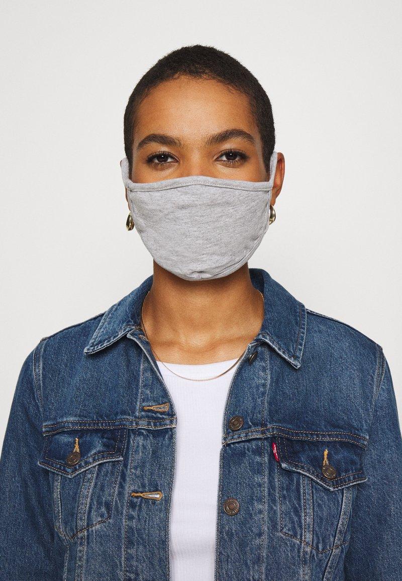Urban Classics - 2 PACK - Community mask - heather grey