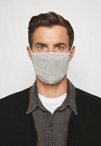 Urban Classics - 2 PACK - Community mask - heather grey - 3