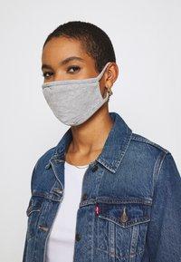 Urban Classics - 2 PACK - Community mask - heather grey - 2