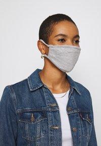 Urban Classics - 2 PACK - Community mask - heather grey - 1