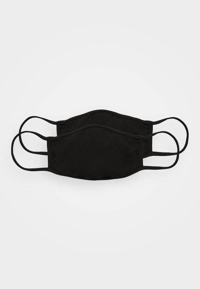 2 PACK - Munnbind i tøy - black